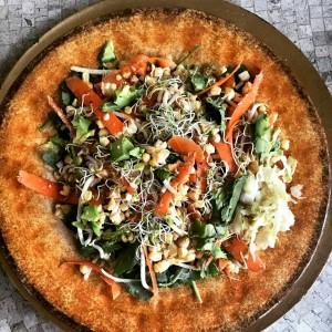 Raw vegan detox corn salad recipe! GMO-FREE!